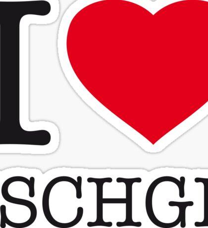 I ♥ ISCHGL Sticker