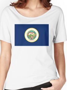 Minnesota state flag Women's Relaxed Fit T-Shirt