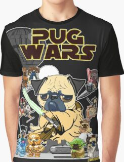 PUG WARS Graphic T-Shirt