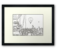 Gas Balloon Framed Print
