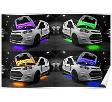 Ford Van Colours Poster