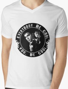 Everybody Be Cool Mens V-Neck T-Shirt