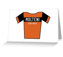 Retro Jerseys Collection - Molteni Greeting Card