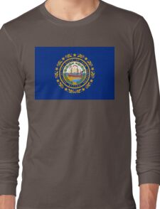 New Hampshire state flag Long Sleeve T-Shirt
