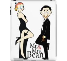 mr&mrs bean  iPad Case/Skin