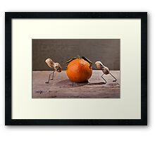 Simple Things - Hard Work Framed Print