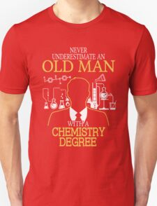 Old Woman With A Chemistry Degree T-Shirt