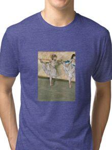 Edgar Degas - Dancers At The Bar Tri-blend T-Shirt