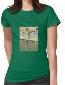 Edgar Degas - Dancers At The Bar Womens Fitted T-Shirt