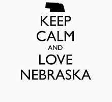 KEEP CALM and LOVE NEBRASKA Unisex T-Shirt