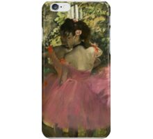 Edgar Degas - Dancers In Pink iPhone Case/Skin