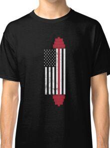 USA Weightlifting Flag Classic T-Shirt