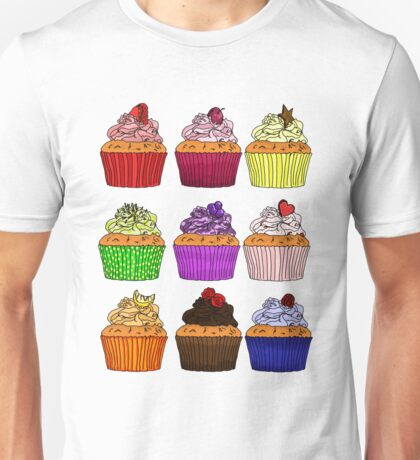 ALL the Cupcakes Unisex T-Shirt