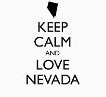 KEEP CALM and LOVE NEVADA Unisex T-Shirt