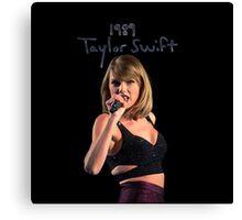 Taylor Swift 024 - 1989 Canvas Print