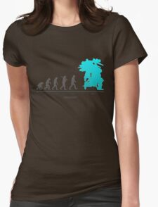 Xenoblade Chronicles X - Theory of Evolution Womens Fitted T-Shirt