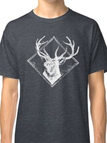 Stag white Classic T-Shirt