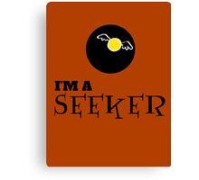 Harry Potter - I'm a SEEKER Canvas Print