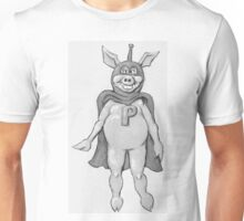 Hero Pig from the Fifties TV Show Unisex T-Shirt