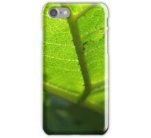 Spines Below The Leaves iPhone Case/Skin