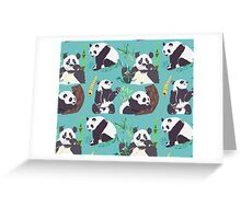 Whole Lotta Panda Greeting Card