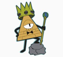 Gravity falls King Bill Cipher  One Piece - Short Sleeve