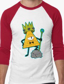 Gravity falls King Bill Cipher  Men's Baseball ¾ T-Shirt