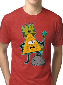 Gravity falls King Bill Cipher  Tri-blend T-Shirt
