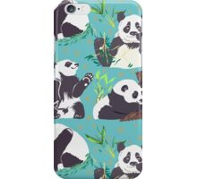 Whole Lotta Panda iPhone Case/Skin