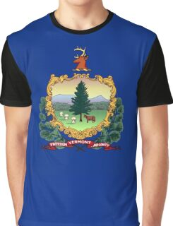 Vermont state flag Graphic T-Shirt