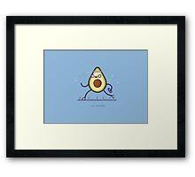 Avocardio Framed Print