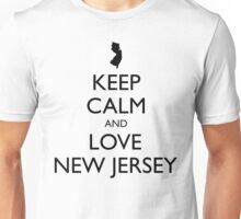 KEEP CALM and LOVE NEW JERSEY Unisex T-Shirt