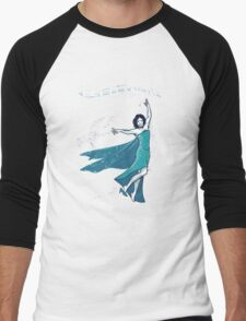 Let it Snow Men's Baseball ¾ T-Shirt