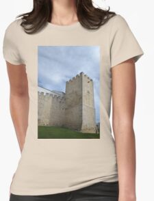 Medieval Castle Tower in Loule Womens Fitted T-Shirt