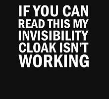 Harry Potter  - Invisibility Cloak Malfunction [Dark Edition] Unisex T-Shirt