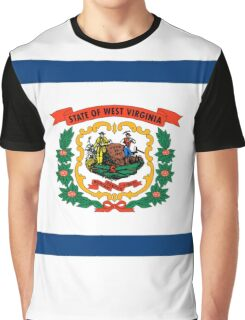 West Virginia state flag Graphic T-Shirt