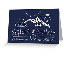 Skyland Mountain Greeting Card