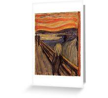 Edvard Munch - The Scream  Greeting Card