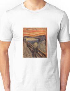 Edvard Munch - The Scream  Unisex T-Shirt