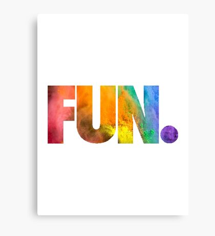 Fun. Colors Canvas Print