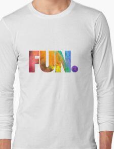 Fun. Colors Long Sleeve T-Shirt