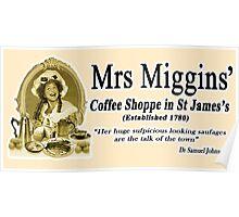 MRS MIGGINS Poster
