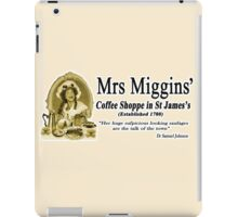 MRS MIGGINS iPad Case/Skin