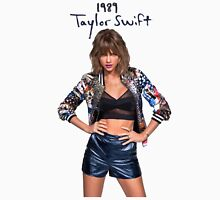 Taylor Swift 020 -1989 Women's Fitted V-Neck T-Shirt