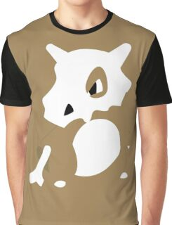 Cubone Pokemon Design Graphic T-Shirt