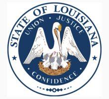 Louisiana state seal One Piece - Short Sleeve