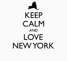KEEP CALM and LOVE NEW YORK Unisex T-Shirt