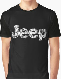 Jeep tires 2 white Graphic T-Shirt