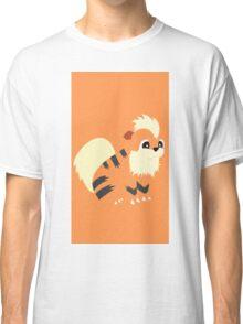 Growlithe Minimal (Pokemon) Classic T-Shirt