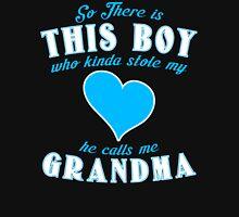 Grandma Grandson Womens Fitted T-Shirt